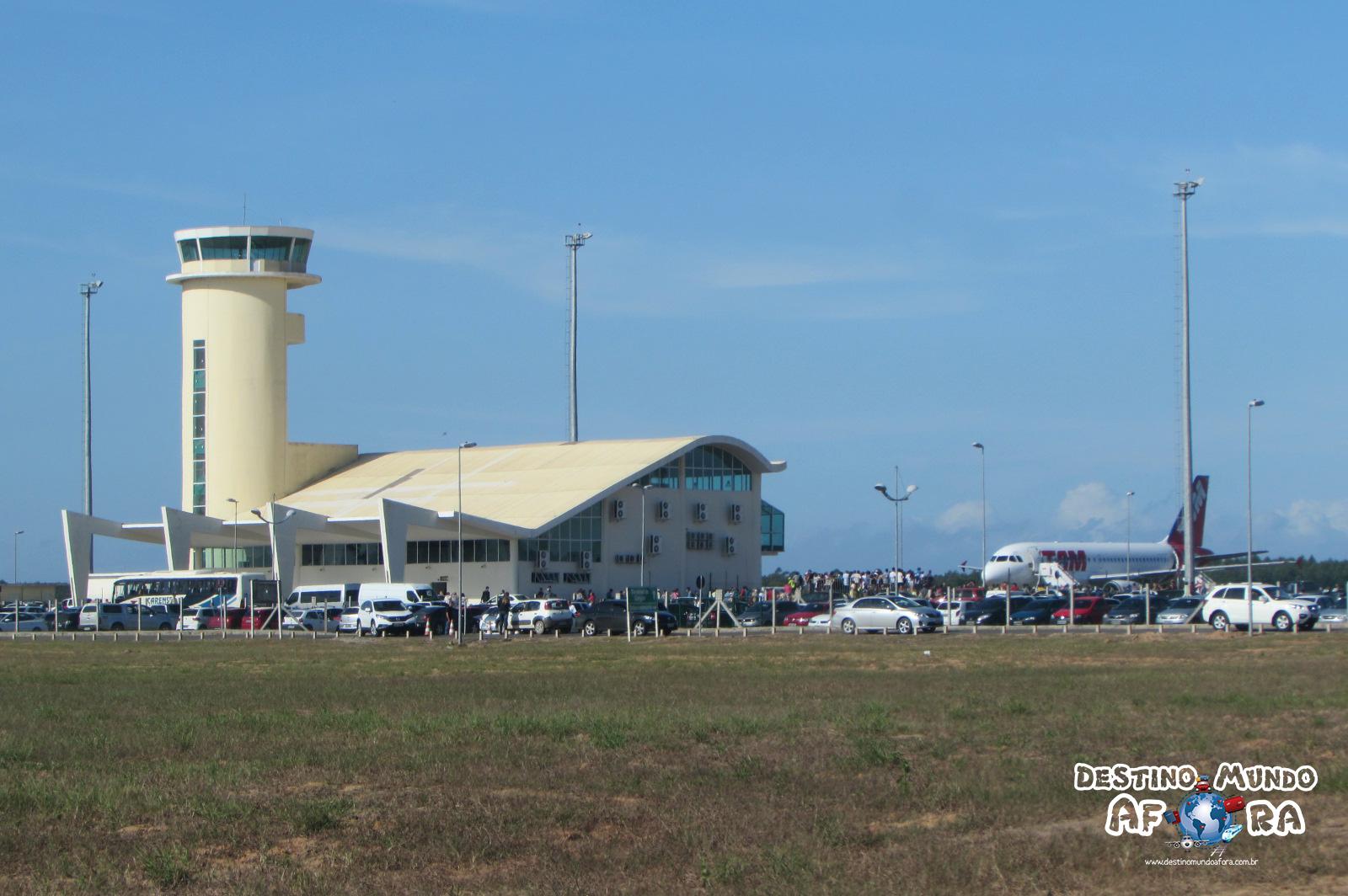 Aeroporto Regional Sul Humberto Bortoluzzi, em Jaguaruna