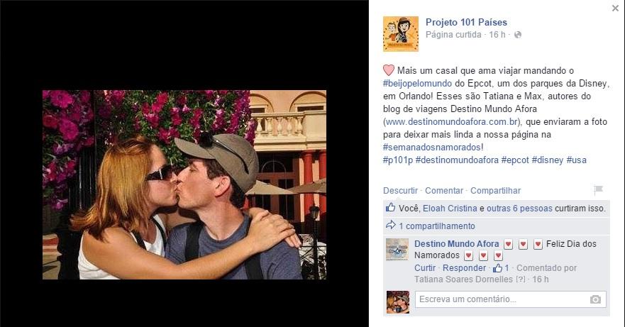 Fanpage Projeto 101 Paises