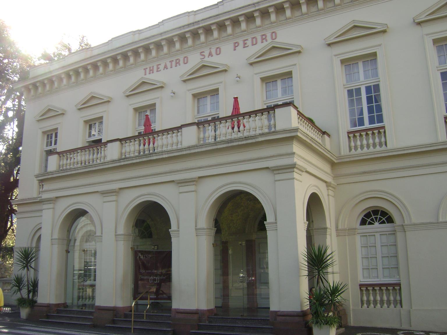 Teatro São Pedro, em Porto Alegre