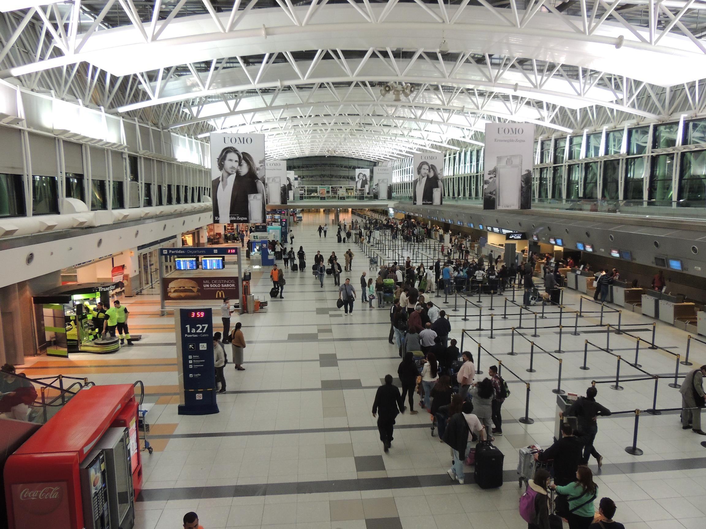 Aeroporto Ezeiza, em Buenos Aires