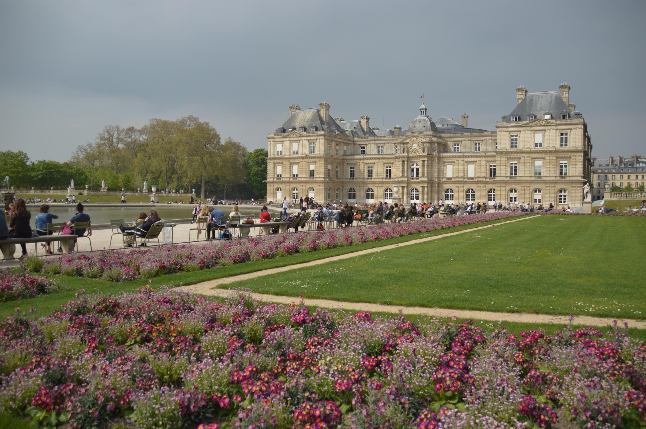 Jardim de Luxemburgo, em Paris