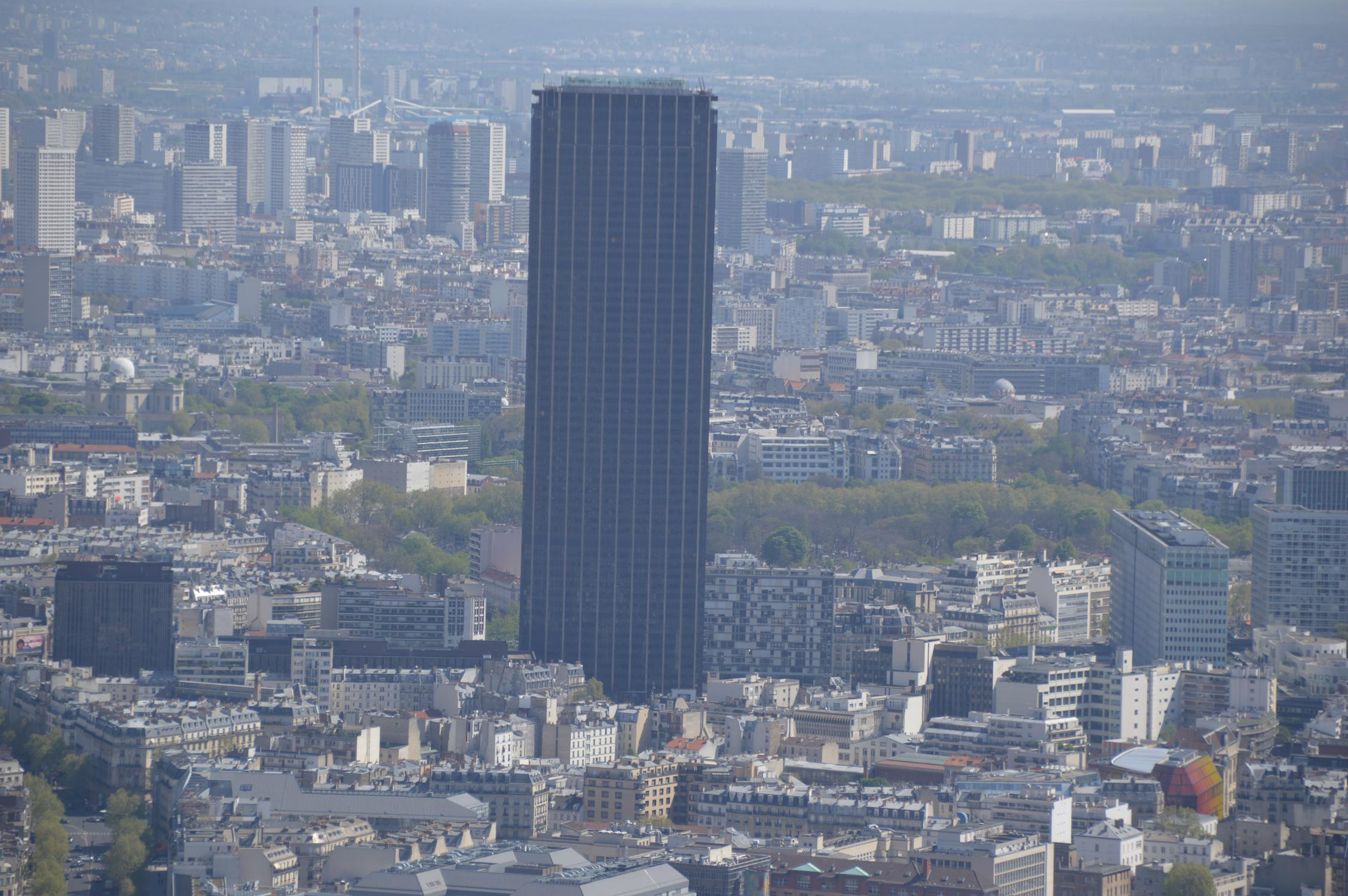 Torre Montparnasse, em Paris