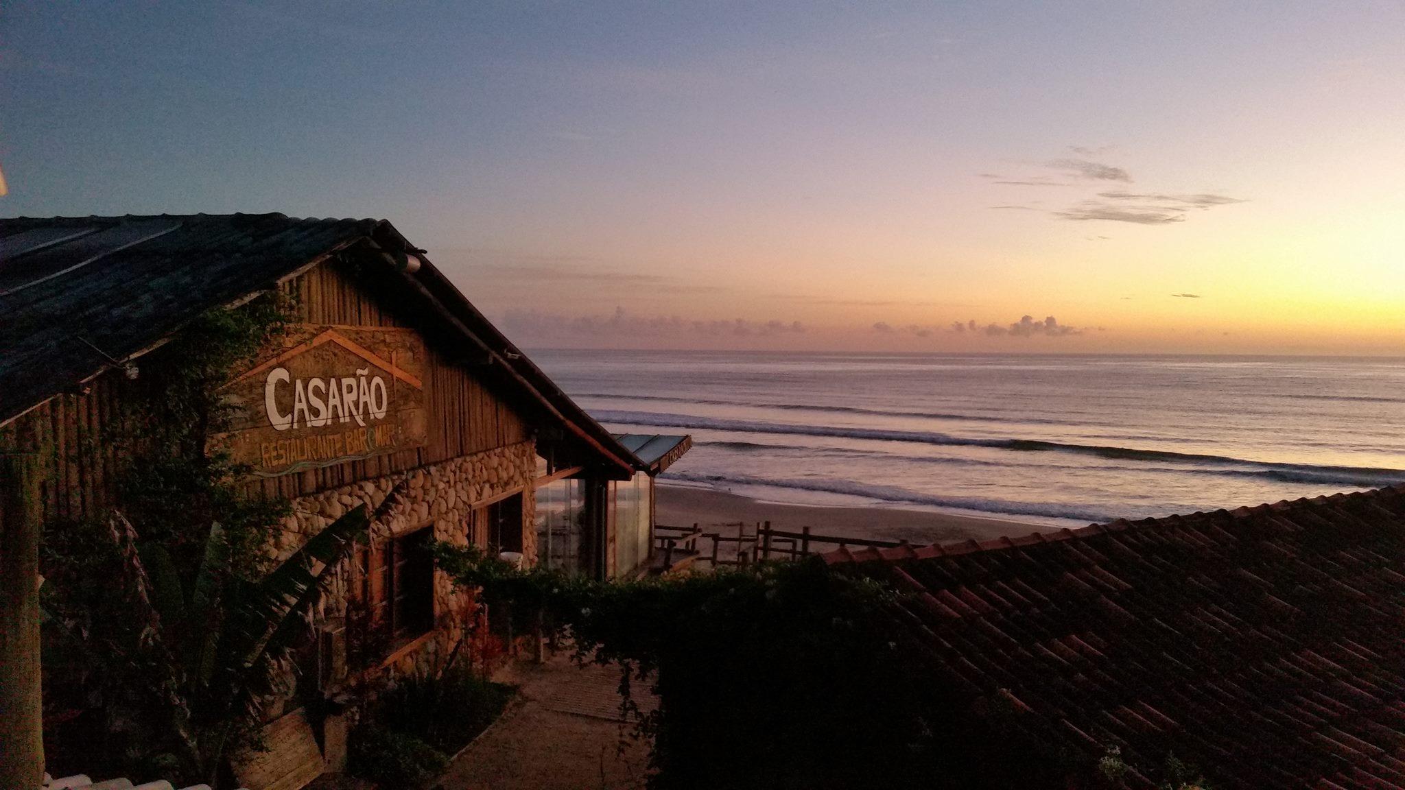 Casarão Restaurante Bar & Mar, na Praia do Rosa