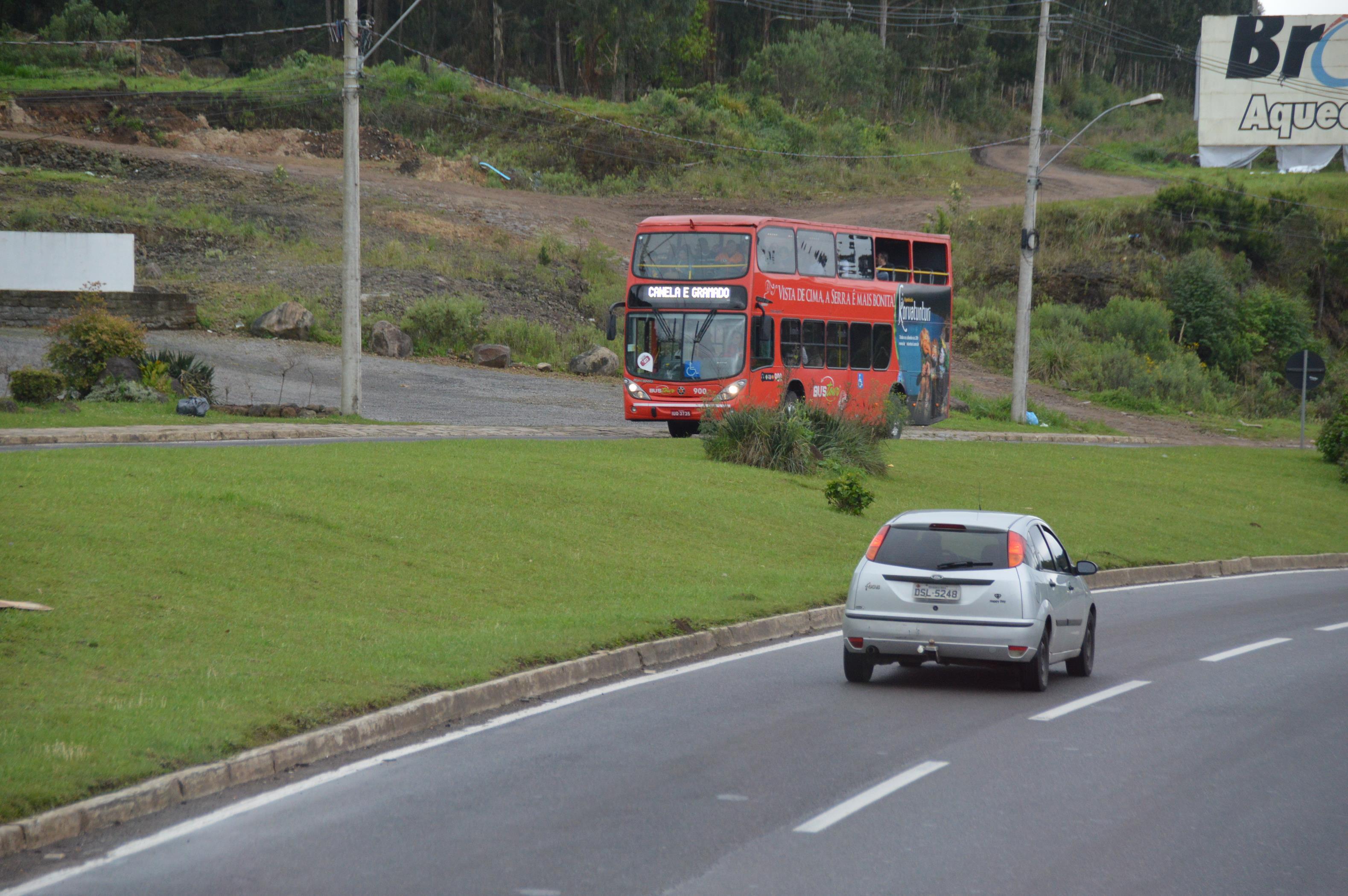 Linha Turismo (BusTour), em Gramado