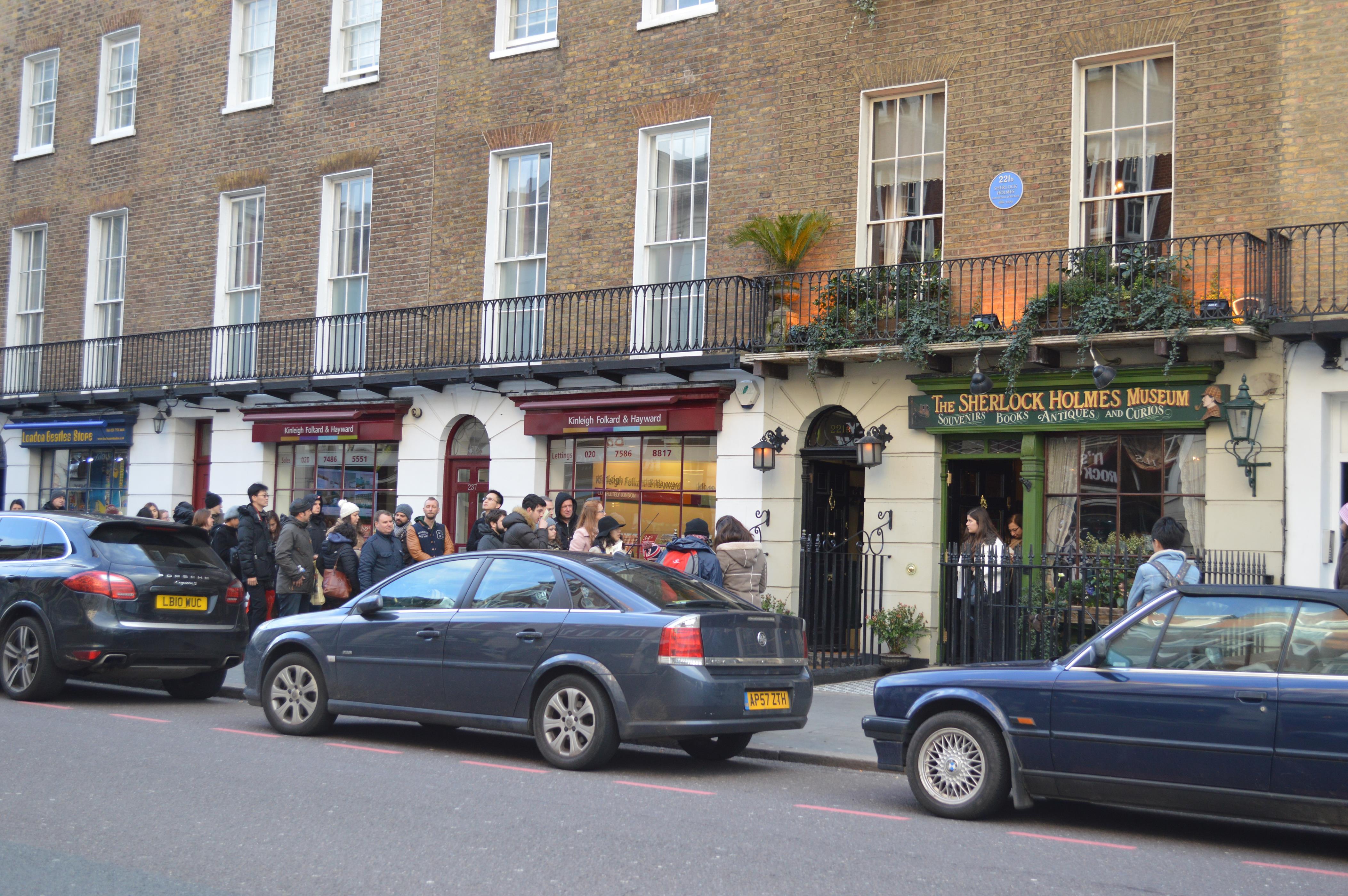 Museu Sherlock Holmes, em Londres