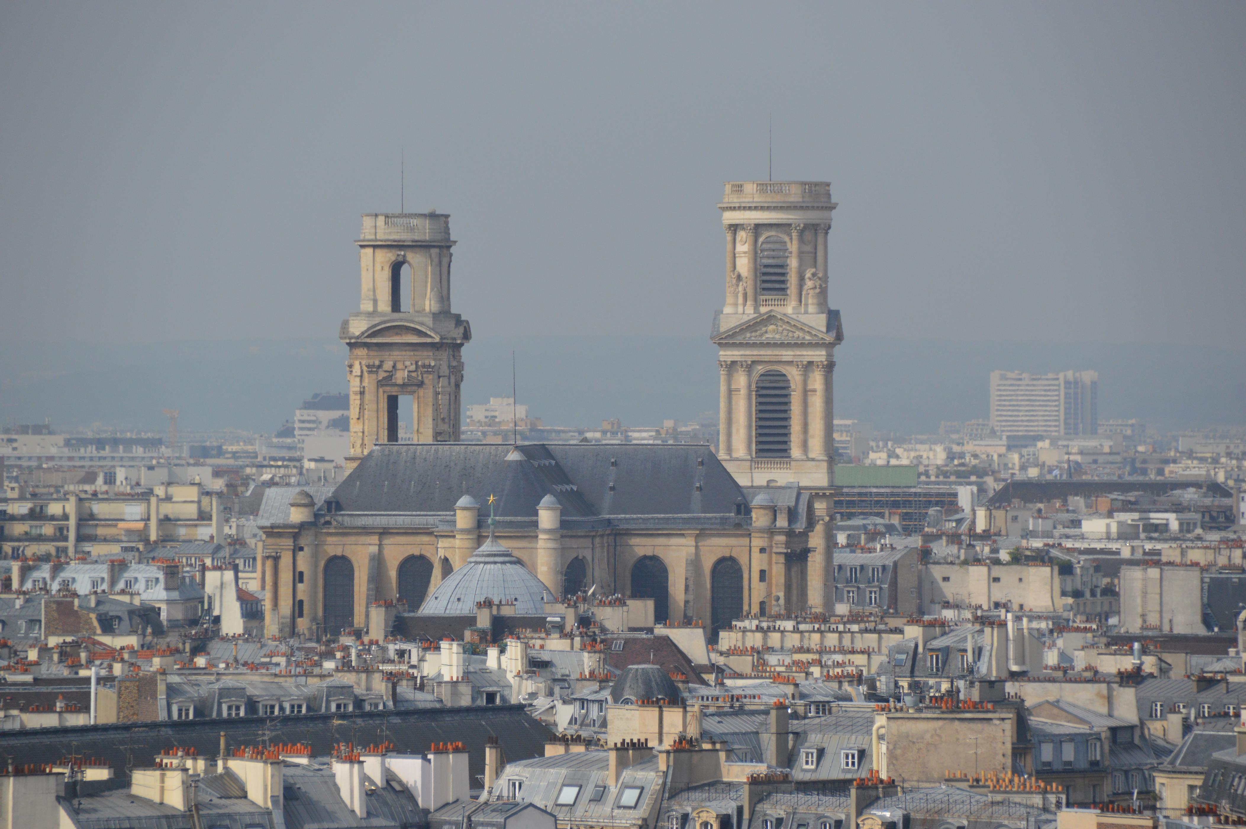 Igreja de Saint Sulpice, em Paris