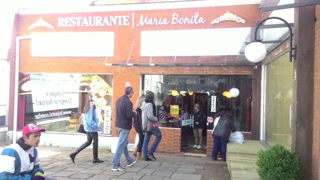 Restaurante Maria Bonita, em Canela