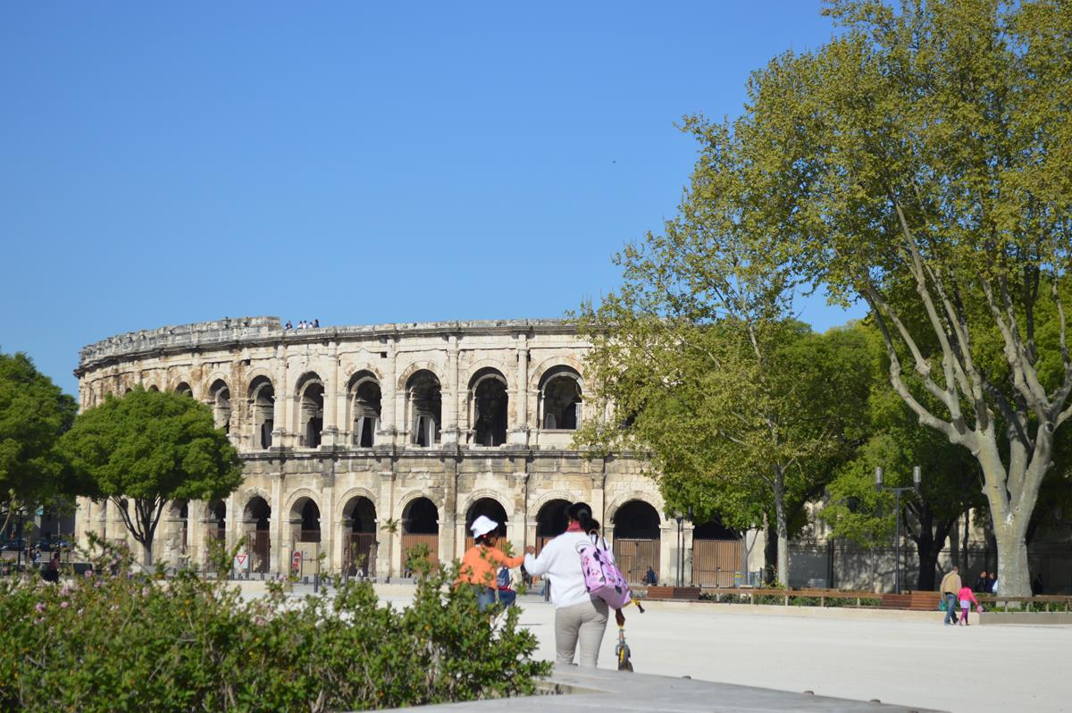 Arène de Nimes, o Coliseu de Nimes