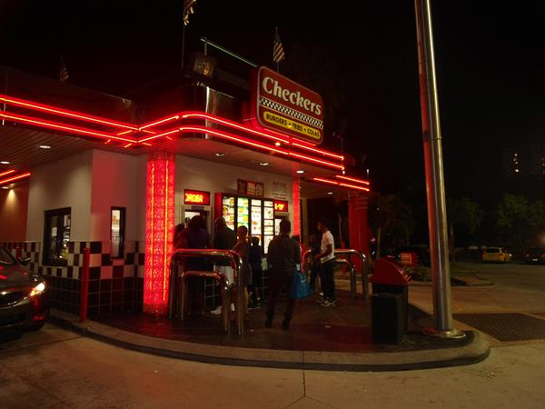 Checkers Drive-In em Miami