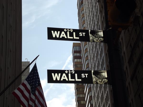 Wall Street, centro financeiro dos Estados Unidos