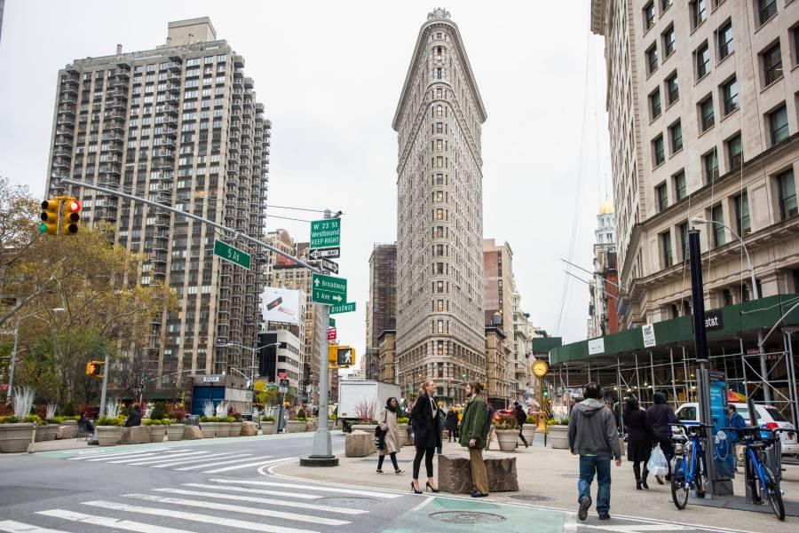 Flatiron Building, o prédio triangular de Nova York