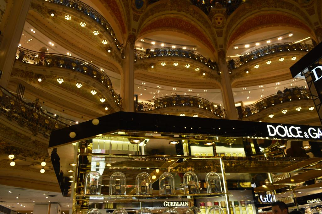 Galeries Lafayette, em Paris