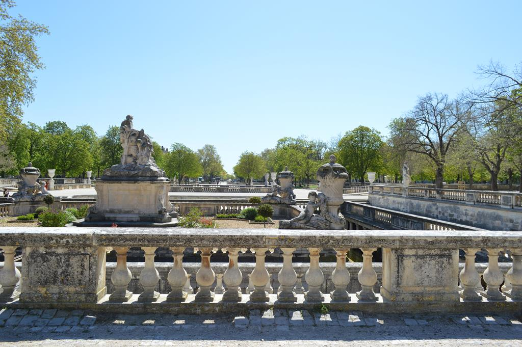 Jardim de La Fontaine, em Nimes