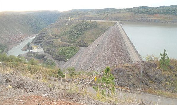 Barragem de Campos Novos: uma das mais altas do mundo