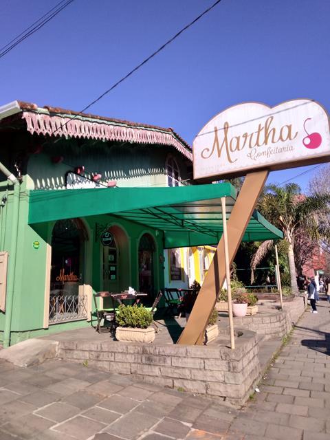 Confeitaria Martha, em Canela