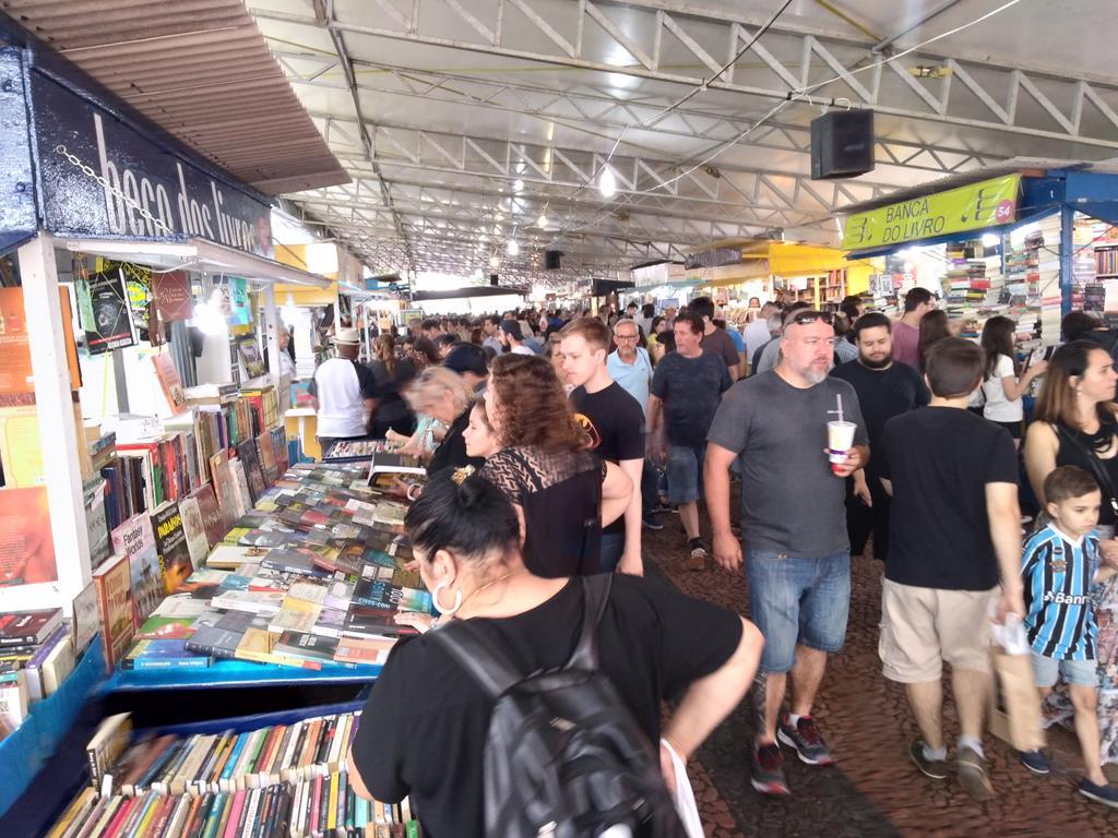 Feira do Livro, em Porto Alegre
