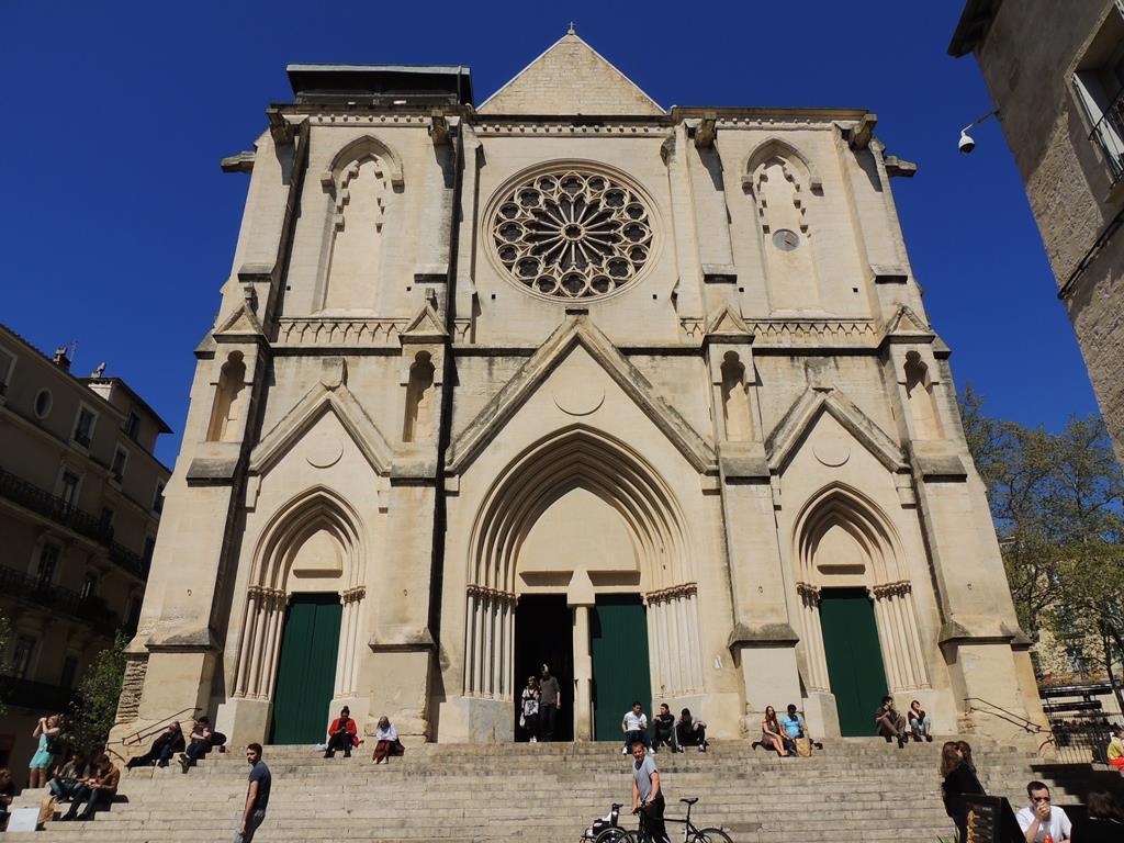 As Igrejas de Montpellier, na França