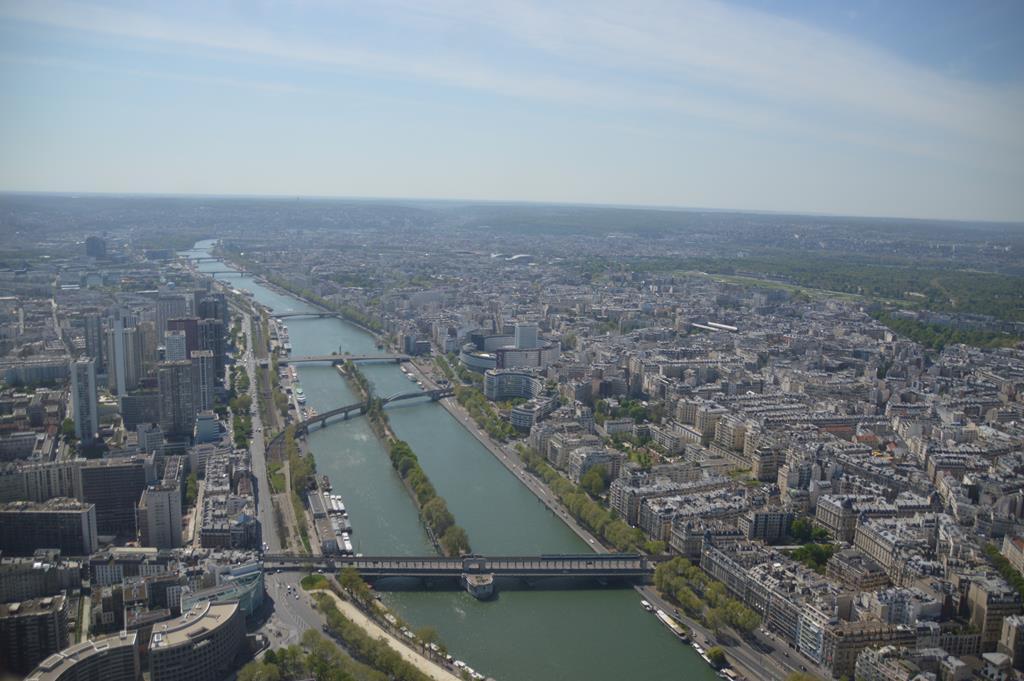 As melhores vistas de Paris