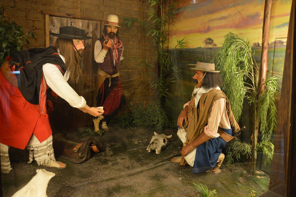 Museu do Gaúcho e da Moeda, em Montevidéu