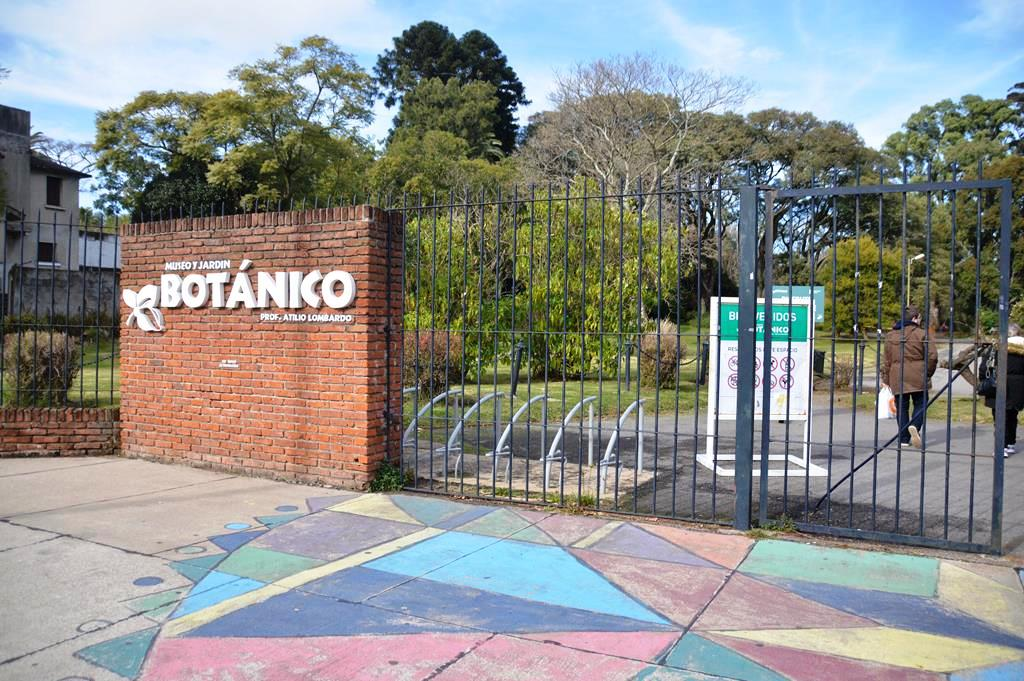 Jardim Botânico em Montevidéu